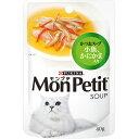 モンプチ スープパウチ かつおスープ 小魚、かにかま入り 40g×12コ〔17070854cw〕