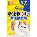 チャオ 食塩無添加 かつお節 にぼし入り 50g