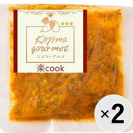 【セット販売】コジマ・グルメ 楽cook 鹿肉とかぼちゃの煮物 80g×2コ
