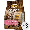 【セット販売】ニュートロ ワイルド レシピ チキン 4kg×3コ