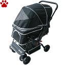 【200】 ピッコロカーネ 対面式ペットカート PRIMO プリモ ブラック超小型犬 小型犬 多頭飼育 中型犬 ハンド…