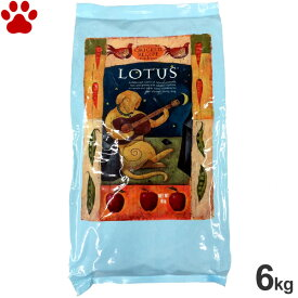【0】 ロータス アダルト チキンレシピ 中粒 成犬用 6kgオーブンベークド ナチュラルフード ドッグフード ドライフード 犬 全犬種 LOTUS