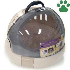 【140】リッチェルコロルおでかけネコベッドMサイズ(体重8kgまで)ベージュ猫用キャリーケースお出かけ猫ベッドかわいい