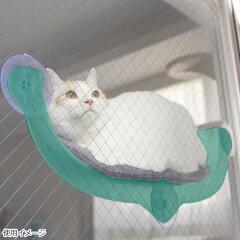 【100】ドギーマンハヤシ絶景リゾートベッド猫用ガラス窓取付ベッドウインドウベッドウィンドウベッドインスタ映えキャティーマン