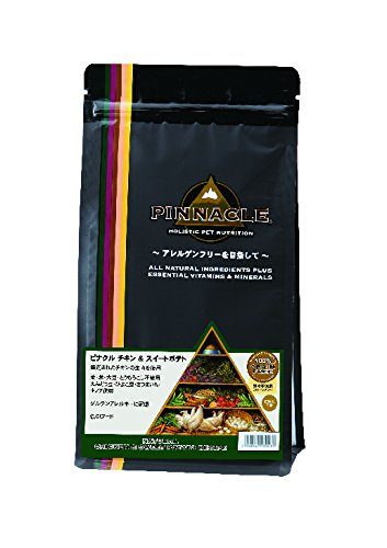 【PINNACLE】ピナクル チキン&スイートポテト(グレインフリータイプ) 全年齢犬用(アレルギー対応) 800g