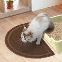 【Petio ペティオ】necoco(ねここ) 猫トイレマット ブラウン