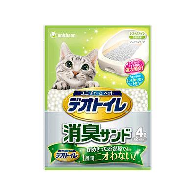 【ユニチャーム】1週間消臭・抗菌デオトイレ 消臭サンド 4L