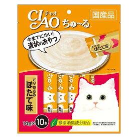 【いなば】CIAO ちゅ〜る とりささみ ほたて味 猫 おやつ 14g×10本