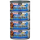 キャラット ロングラン かつおグルメ 170g×4 猫 キャットフード 猫缶 缶詰 【日清ペットフード】