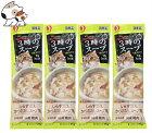 【メール便】ペットラインキャネット3時のスープしらす添えかつおだしスープ風25g×4連