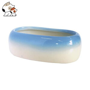 ナチュラルペットフーズ 小判型 小 鳥 食器 エサ皿