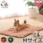 アイリスオーヤマブランケットMサイズPMJ800レッド/グリーン犬用/猫用【あす楽_年中無休】