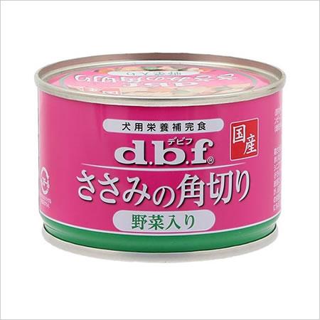★【6月のお買い得商品】デビフ ささみの角切り野菜入り 150g