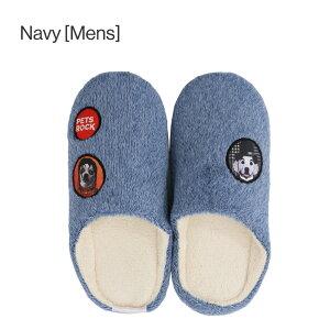 PETSROCK(ペッツロック)ルームシューズ【公式オンラインストア】メンズレディースもこもこ冬あったかかわいい可愛い洗える温かい履きやすいふわふわペットセレブ有名人犬猫ドッグキャット靴