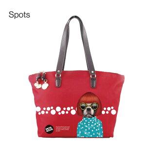 PETSROCK(ペッツロック)グリップレザーナイロントートバッグ【公式オンラインストア】ペットセレブ有名人犬猫ドッグキャットレディース鞄