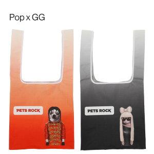 PETSROCK(ペッツロック)底幅広エコバック【公式オンラインストア】ペットセレブ有名人犬猫ドッグキャットレディース鞄