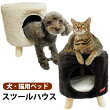 【犬猫ベッド】プラッツスツールハウスベッド