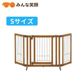 リッチェル ペット用木製おくだけドア付ゲート S ゲート 犬用品 犬 ペット用品