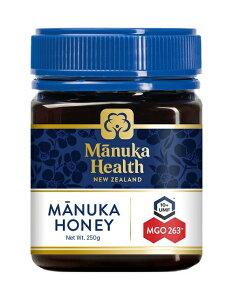富永貿易 マヌカヘルス MGO263 UMF10 マヌカハニー 250g ニュージーランド産 蜂蜜 ハチミツ【UR】