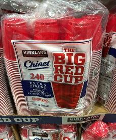 【コストコ】#1193444 カークランド KIRKLAND プラスティック カップ赤 1セット(532ml ×240個)プラスチック パーティー アウトドア レジャー BBQ【Z】