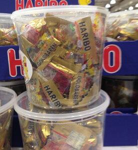 【コストコ】ハリボー ゴールデンベアドラム グミ 980g(100袋入) HARIBO GOLD BAREN バケツ型 業務用(個別包装:約100袋入) 輸入食品 EAN: 4001686301180【Z】