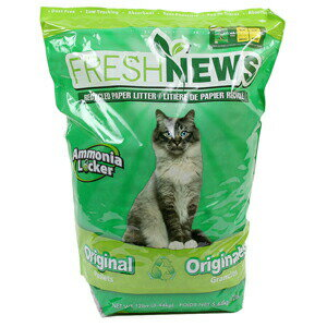 【PET】フレッシュニュース 5.45kg 【フェレット 猫 トイレ砂】JAN:0850357002123【NC】