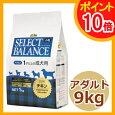 セレクトバランスアダルトチキン小粒9kg【ドライフード/成犬用(アダルト)/ペットフード/DOG/ドッグフード】