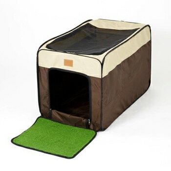 コノコ 折りたたみ式トイレットハウス ブラウン【KONOKO】【ケージ/ハウス】【犬用品・犬/猫用品・猫・ペット用品・ペットグッズ】【10P03Dec16】【お得なクーポン】