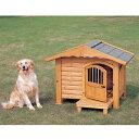 犬小屋 犬舎 送料無料 ロッジ犬舎 RK-950 [木製犬舎 大型犬用 屋外 庭 ペットハウス アイリスオーヤマ] 楽天◆5