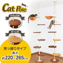 《6/13迄10%OFFクーポン配布中》キャットタワー ハンモック付き 猫 キャット タワー ポール キャットタワー キャット…