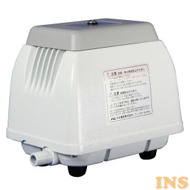 エア—ポンプ 水槽 浄化槽ポンプ 30L ホワイト NIP-30L 送料無料 エアーポンプ 浄化槽ブロアー 浄化槽ブロワー 浄化槽エアポンプ 日本電興 【D】