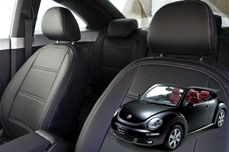 vw フォルクスワーゲン ニュービートル シートカバー AW オートウェア 2列シート 本革 New Beetle シートカバー 車内用