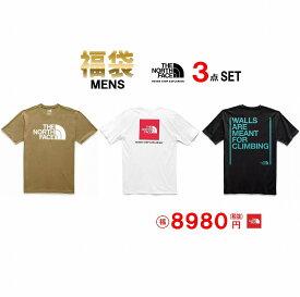 3点 福袋 THE NORTH FACE ザ ノースフェイス Tシャツ 3枚セット