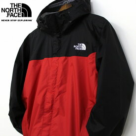 ザ ノースフェイス THE NORTH FACE Venture Jacket ベンチャージャケット メンズ TNF RED 赤 黒 (撥水DryVent仕様 マウンテンパーカー レインジャケット) 送料無料