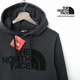 【P5倍】 THE NORTH FACE ザ ノースフェイス HALFDOME プルオーバー パーカー メンズ ダークグレー 裏起毛