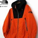 THE NORTH FACE ザ ノースフェイス CEPTOR JACKET Dryvent 3L 採用 マウンテンジャケット メンズ オレンジ色 限定モデル