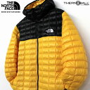 THE NORTH FACE ザ ノースフェイス THERMOBALL DOWN PARKA サーモボール ダウンジャケット ダウンパーカー メンズ Tnf Black Tnf Yellow