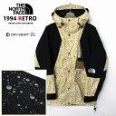 THE NORTH FACE ザ ノースフェイス 【1994 RETRO MOUNTAIN LIGHT JACKET】 レトロ マウンテンライトジャケット メンズ USA限定モデル DRYVENT-2
