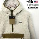 THE NORTH FACE ザ ノースフェイス Campshire ANORAK JACKET アノラック フリースジャケット メンズ ビンテージホワイト モコモコ ボア仕様