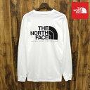 THE NORTH FACE ザ ノースフェイス THROBACK HALFDOME ロングスリーブ ロングTシャツ メンズ TNF WHITE