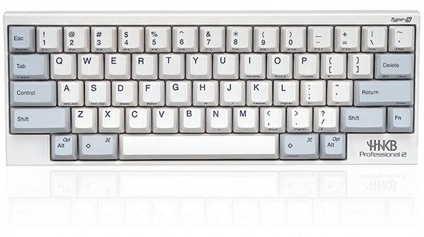 【送料無料】PFU製Happy Hacking KeyboardProfessional2 Type-S英語配列/白PD-KB400WS