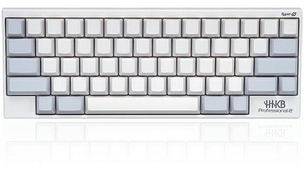 【送料無料】PFU製Happy Hacking KeyboardProfessional2 Type-S無刻印/白 (英語配列)PD-KB400WNS