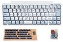 【送料無料】PFU製Happy Hacking Keyboard Professional BT 日本語配列/白(日本語配列)カスタマイズキートップセット