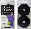 【なんば店商品】ボウブランド グリップテープ30本巻ブラック(BOW030)【メール便で発送】【郵便ポスト投函故に、代引不可です】