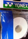 【なんば店・メーカー取寄品/AC102-5/ホワイト】ヨネックス ウェットスーパーグリップ詰め替え用5本入(ホワイト)AC…