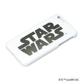 STARWARS iPhone 6s/6用 ハードケース 銀箔押し ロゴ PG-DCS925SW【Disneyzone】【スターウォーズ ロゴ キャラクター ハードケース アイフォン】