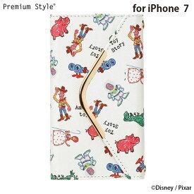 iPhone 7用 レタークラッチタイプ/トイ・ストーリー【手帳型ケース 手帳型カバー Disney Pixar】