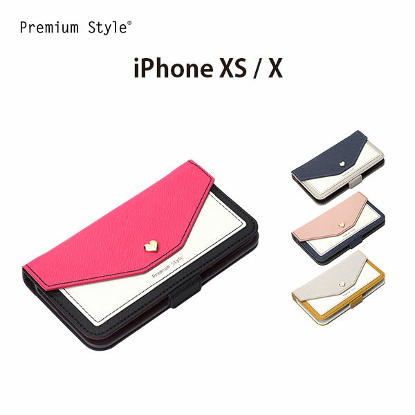 iPhoneXS iPhoneX アイフォン iPhoneケース 手帳型 フリップカバー スクエア型ポケット【鏡付き アイフォン 女子 フリップカバー 手帳型 かわいい 使いやすい】