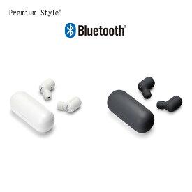 Bluetooth 4.2搭載 トゥルーワイヤレス ステレオイヤホン【ワイヤレスイヤフォン ブルートゥース 便利 簡単接続 マイク付き イヤフォンマイク iphone Android 対応 PC用 リモコンマイク 軽量設計 コンパクト ダイナミック型】