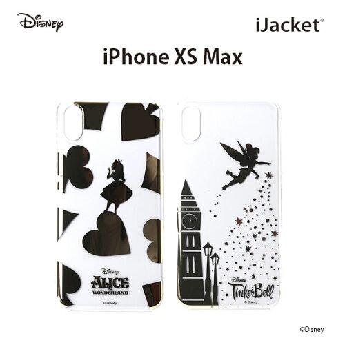 【予約販売】【2019年2月20日頃入荷予定】iPhoneXSMax用ディズニーキャラクター箔押しクリアケース